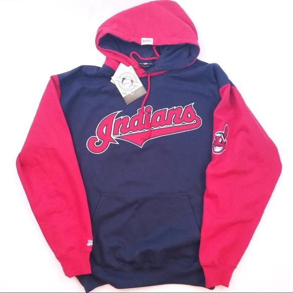 Sports Memorabilia, Fan Shop & Sports Cards MLB Fan Apparel & Souvenirs MLB Cleveland Indians Hoodie Sweatshirt Brand New SZ L-2XL